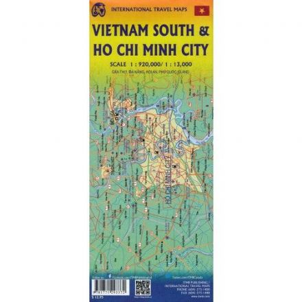 Ho Chi Minh City & The Mekong Delta - Travel Map